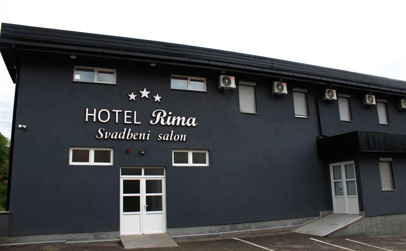 "Hotel i svadbeni salon ""Rima"""